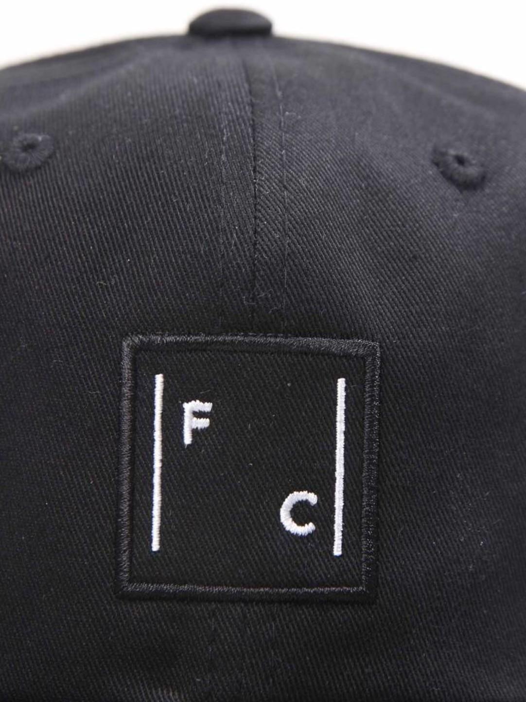 FRESHCOTTON FreshCotton Logo Cap Black
