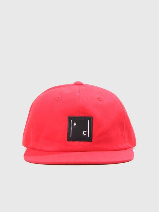 FreshCotton Logo Cap Red