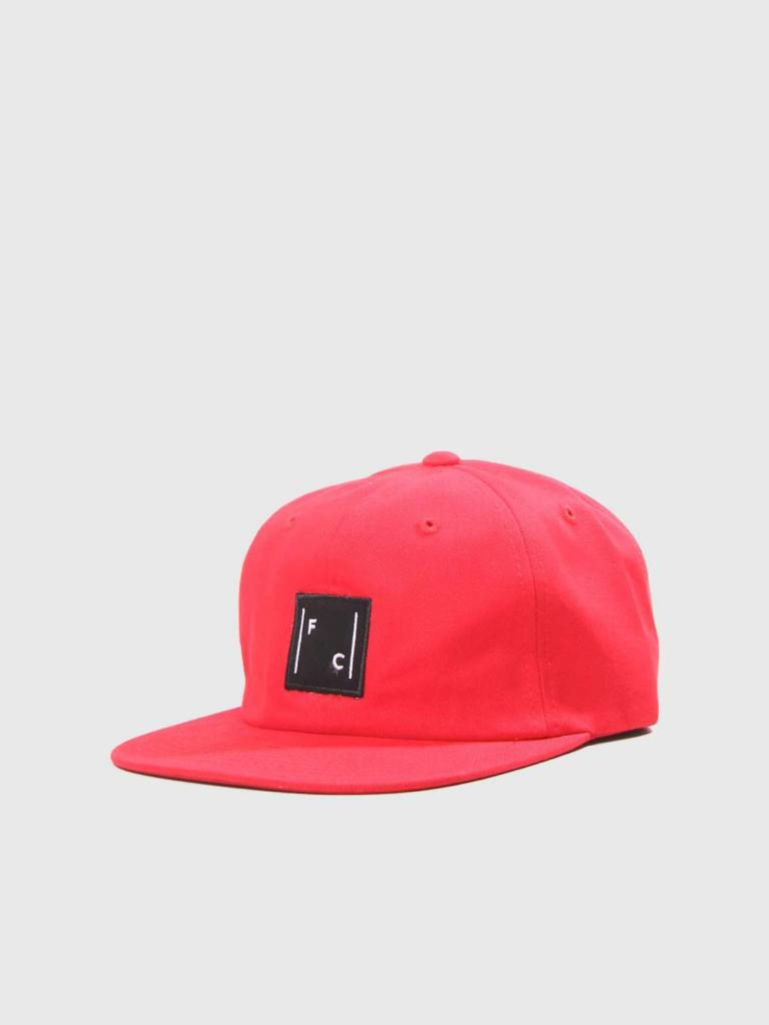 FRESHCOTTON FreshCotton Logo Cap Red