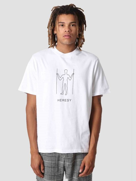 Heresy Hill Giant T-Shirt White HAW18-T01W