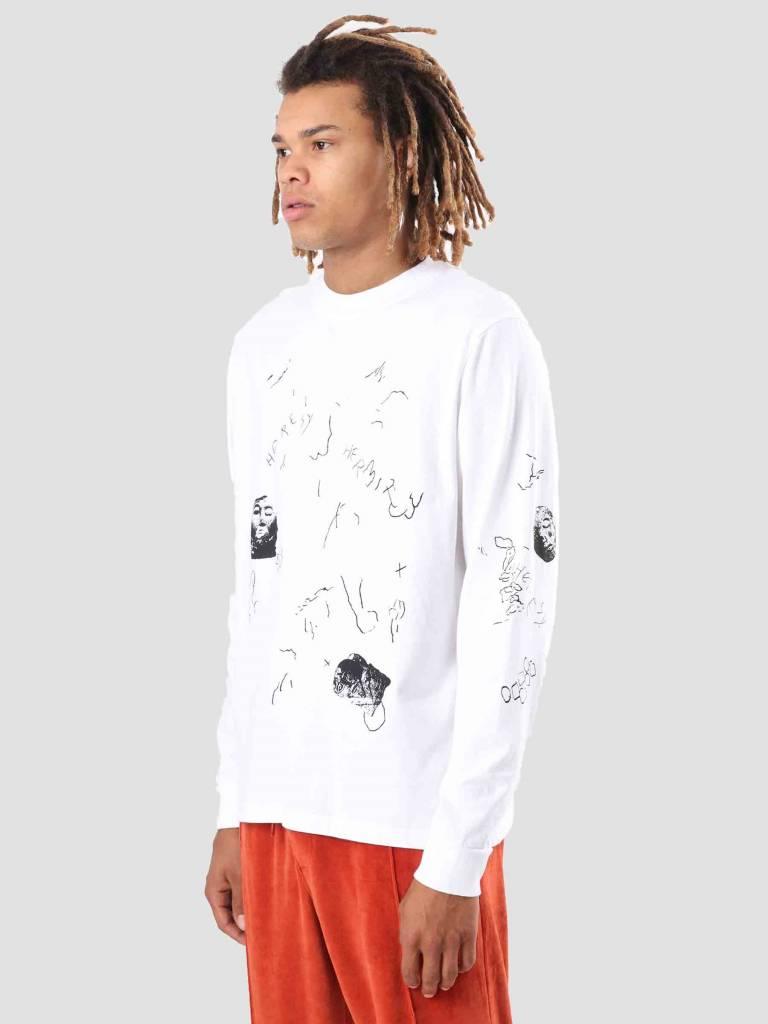 Heresy Heresy Scrawl T-Shirt White HAW18-T04W
