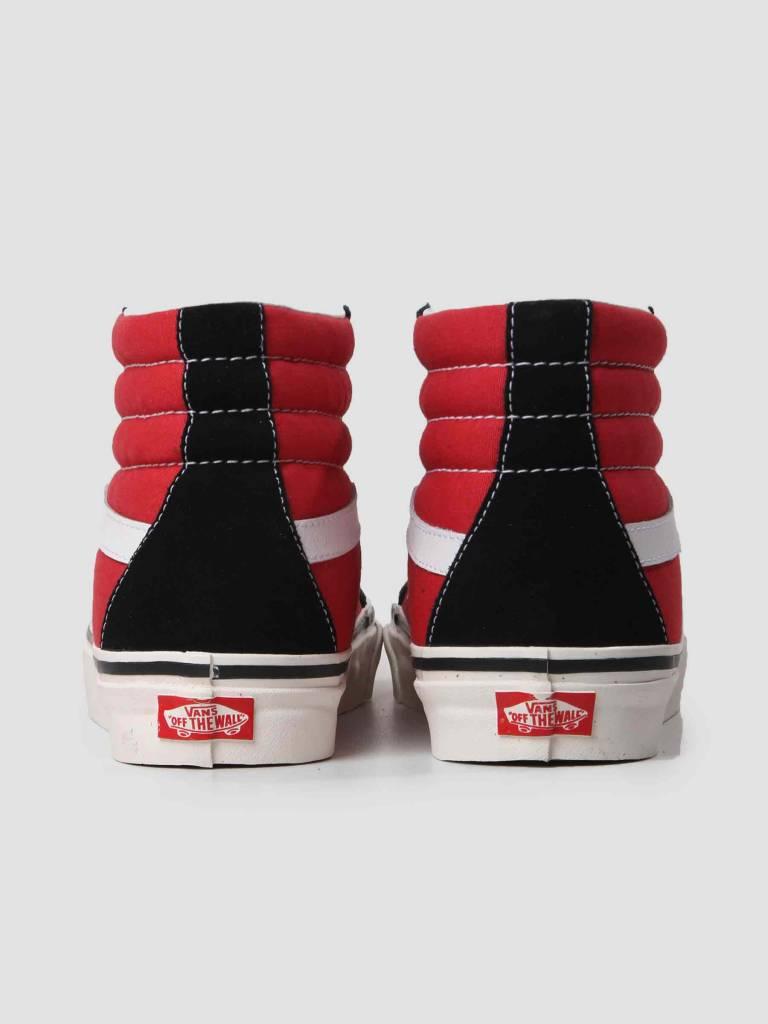 Vans Vans Ua Sk8-Hi 38 Dx OG Black OG Red VN0A38GFUBS1
