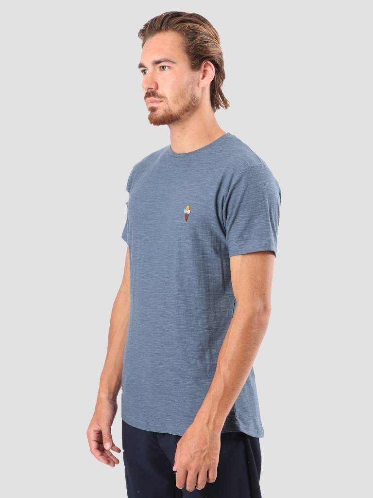 RVLT RVLT Kenneth Printed T-Shirt Navy 1951 CON