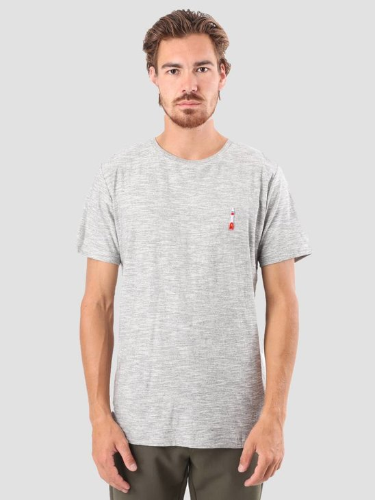RVLT Kenneth Printed T-Shirt Grey 1951 ROC