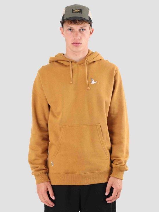 Wemoto Goose Hood Sweatwear Golden Mustard 121.411-839