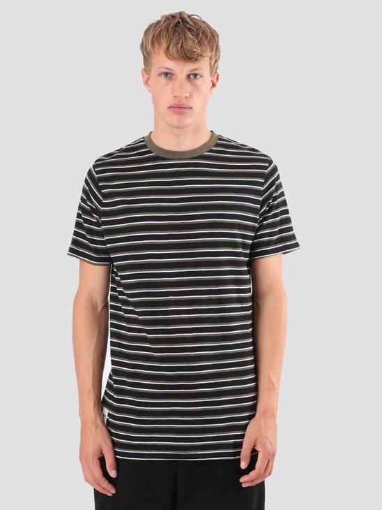 Wemoto Cope T-Shirt Black-Olive 121.236-121