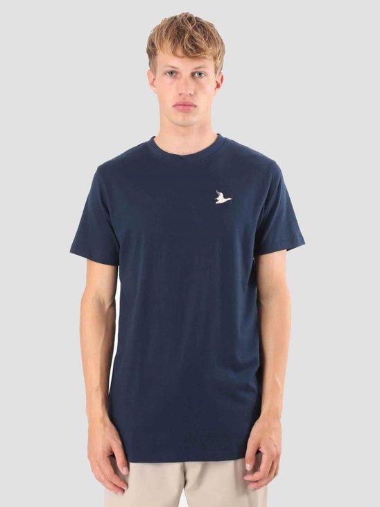 Wemoto Goose T-Shirt Navyblue 121.225-400