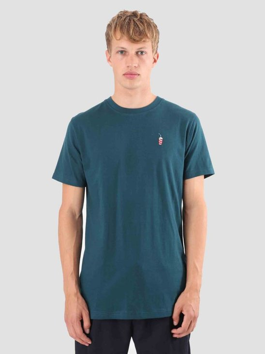 Wemoto Shake T-Shirt Atlantic Green 121.230-601