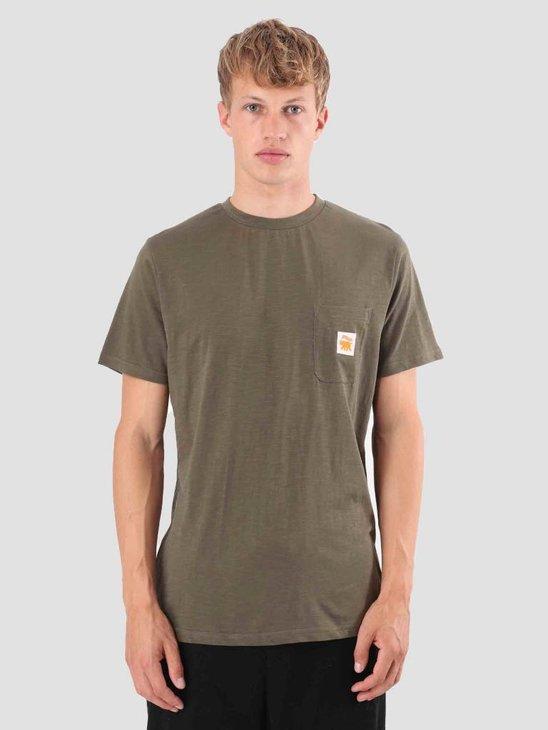 Wemoto Toby T-Shirt Olive 121.235-608
