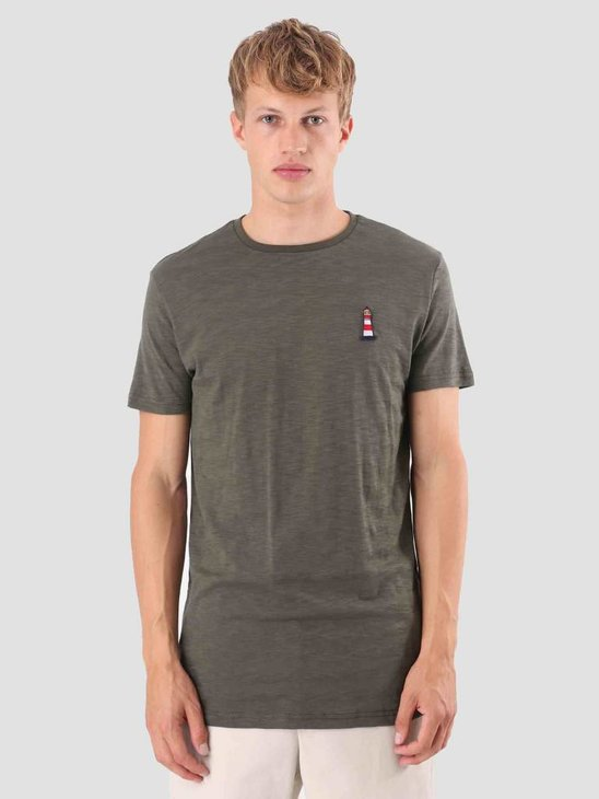 Kronstadt Tom Tee T-Shirt Army KRFH18-KS2598