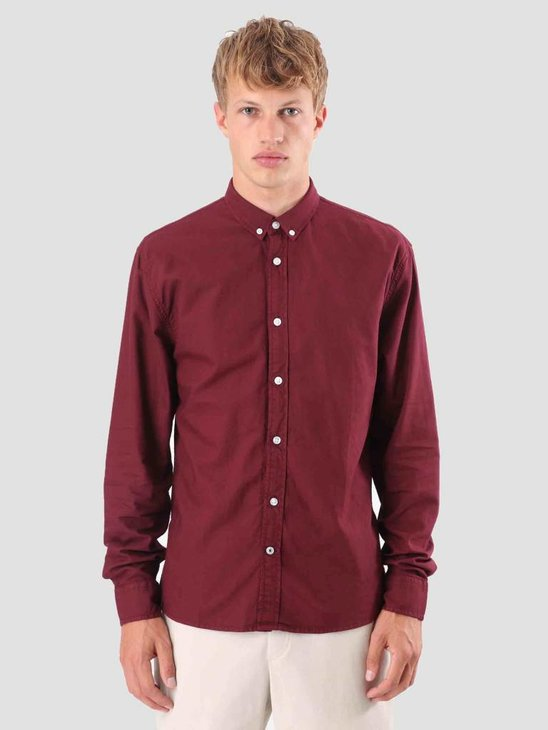 Kronstadt Johan Oxford Shirt Dyed KRFH18-KS2470