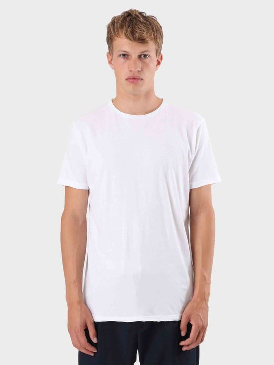 RVLT Rolled Edges T-Shirt White 1003