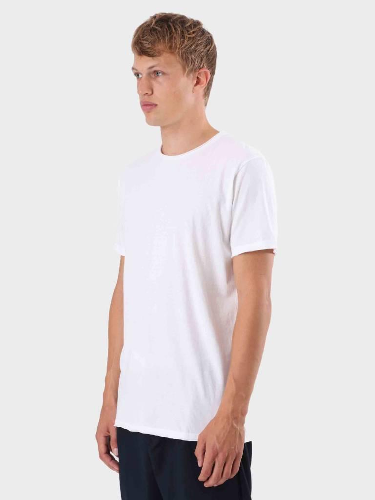 RVLT RVLT Rolled Edges T-Shirt White 1003