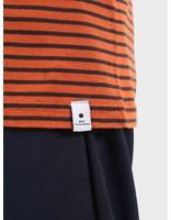 RVLT RVLT Striped T-Shirt Orange 1005