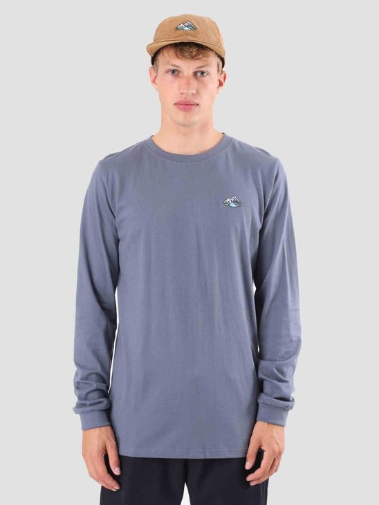 Wemoto Mountains Longsleeve Faded Blue 121.218-477