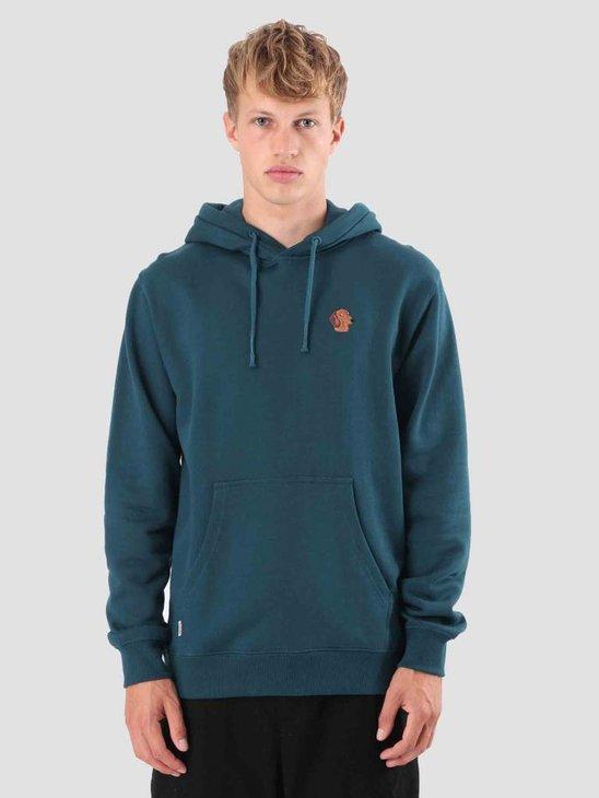 Wemoto Quincy Hood Sweatwear Atlantic Green 121.409-601