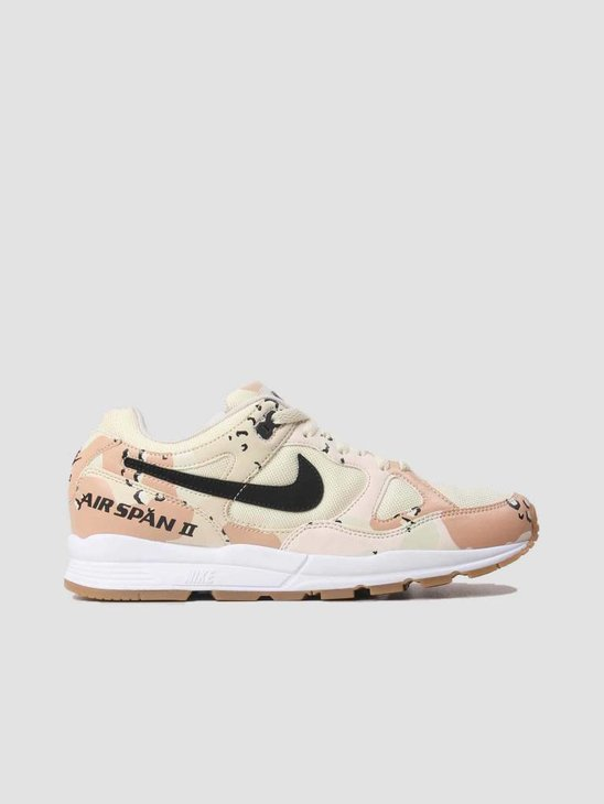 Nike Air Span II Premium Beach Black-Praline-Light Cream AO1546-200