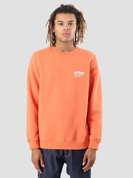 Stussy Surf and Sport Crew Rust 0627
