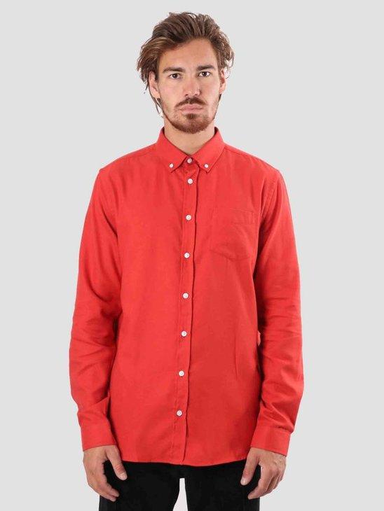 Libertine Libertine Hunter Dress Shirt Pale red 1142