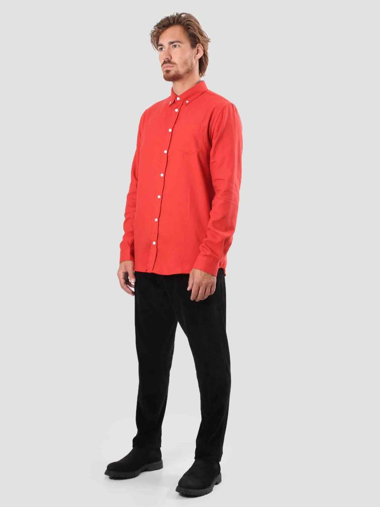 Libertine Libertine Libertine Libertine Hunter Dress Shirt Pale red 1142