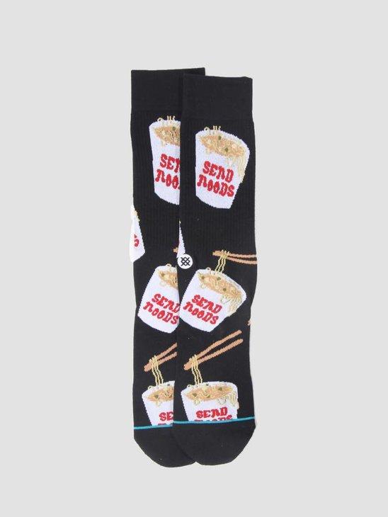Stance Noods Sock Black M546C18Noo