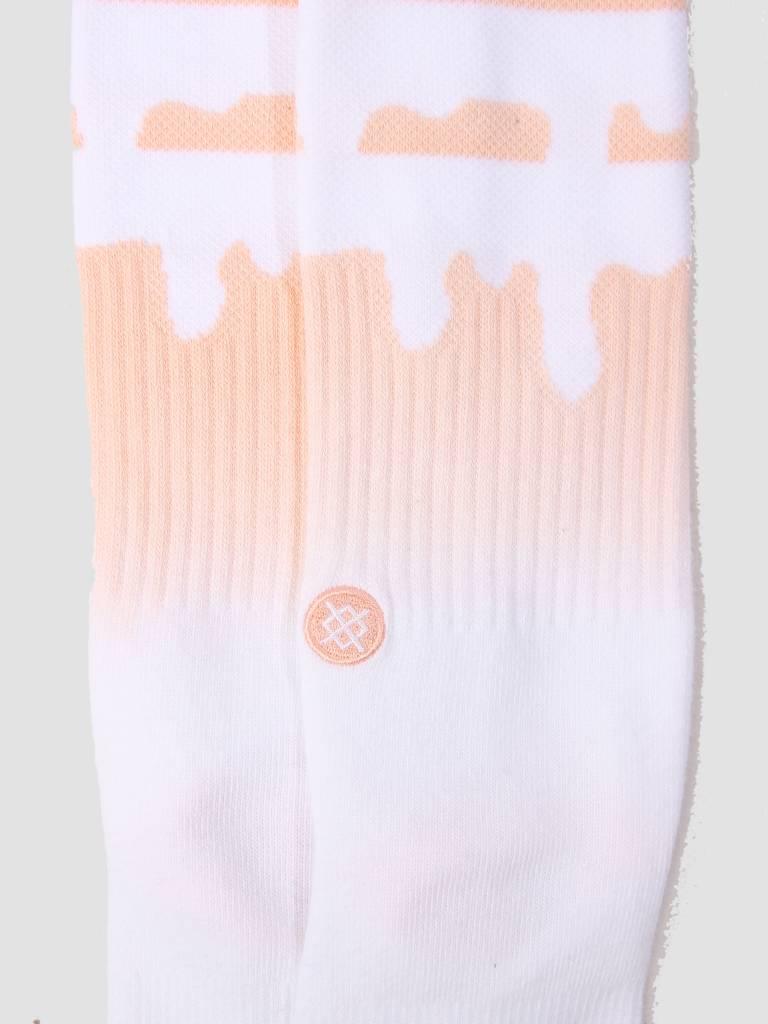Stance Stance Melt Down Sock Peach M556C18Med