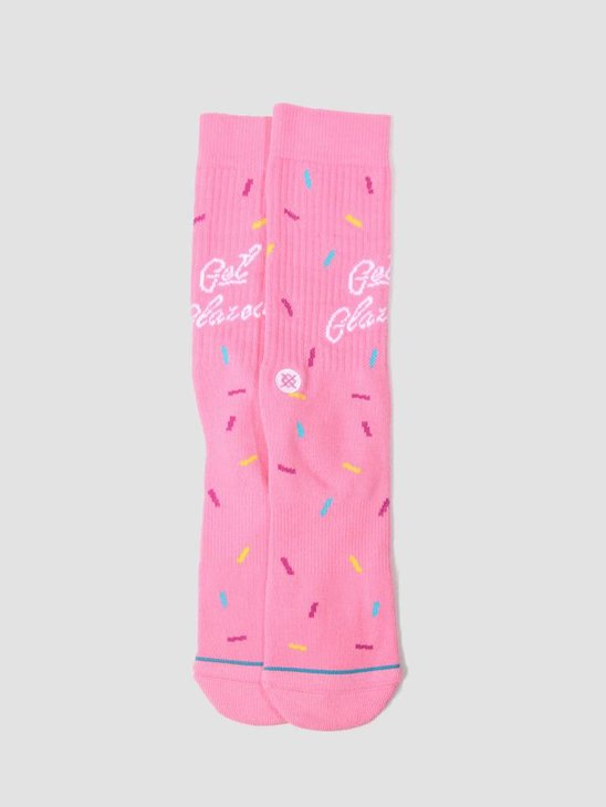 Stance Glazed Sock Pink M556C18Gla