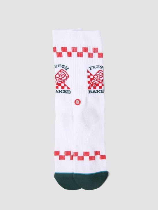 Stance Fresh Baked Sock White M556C18Frb