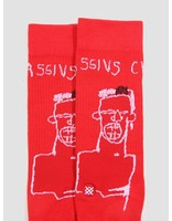 Stance Stance Basquiat Cassius Sock Red M546C18Bas