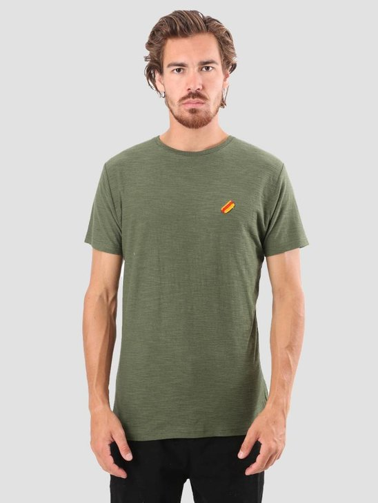 RVLT Kenneth Printed T-Shirt Army 1951 HOT