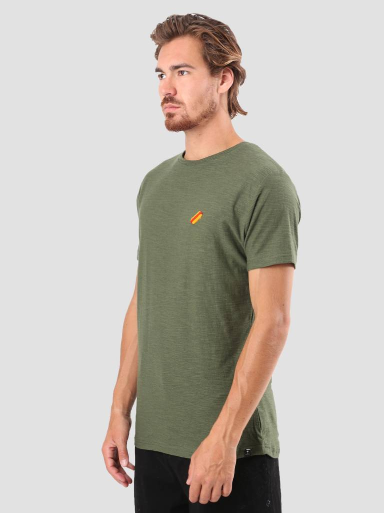 RVLT RVLT Kenneth Printed T-Shirt Army 1951 HOT