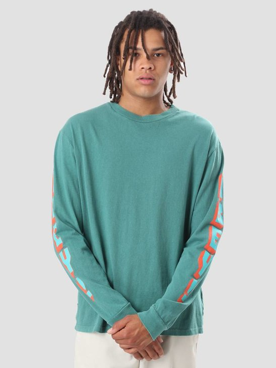 Obey Obey New World 2 Longsleeve Teal 166731696