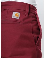 Carhartt WIP Carhartt WIP Sid Pant Chianti Burgundy Rinsed I003367-61902