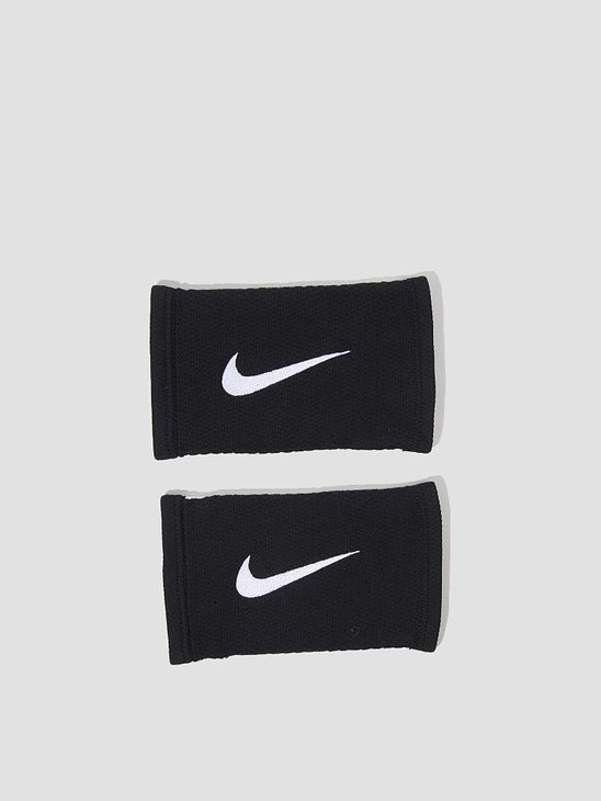 Nike Dri-Fit Stealth Wristbands Black White