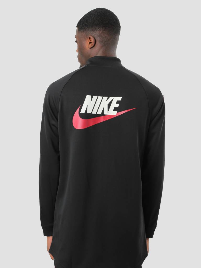 Nike Nike NSW Taped Track Jacket Poly Black Gym Red Sail AJ2681-010
