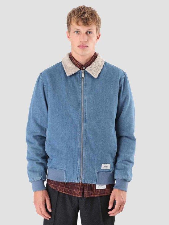 Wemoto Garland Jacket Blue Denim 121.616-473