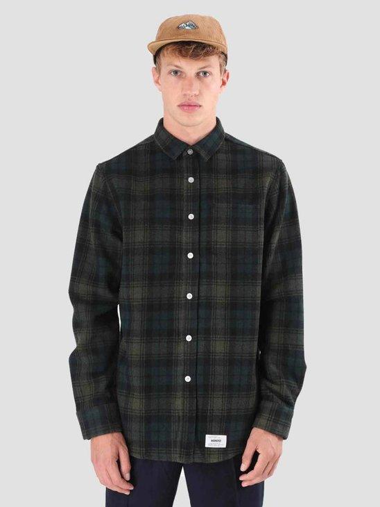 Wemoto Michael Shirt Dark Green 121.302-639