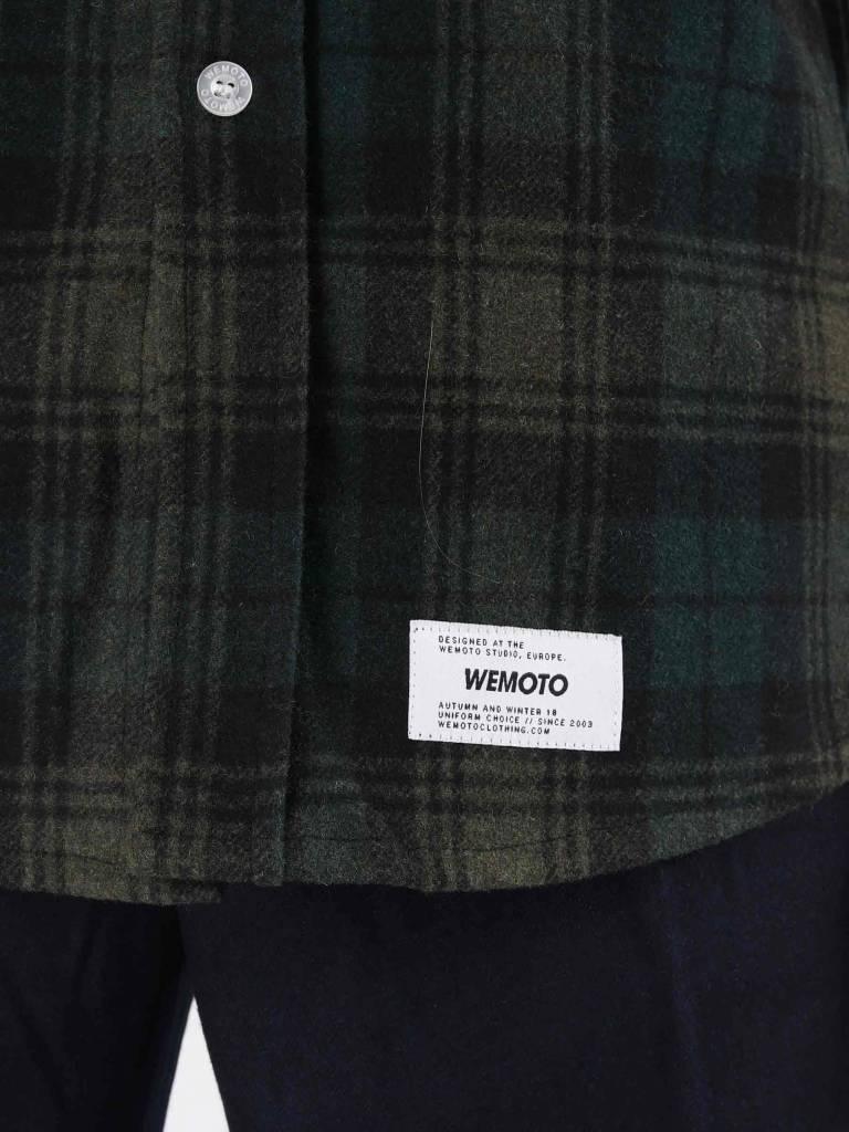 Wemoto Wemoto Michael Shirt Dark Green 121.302-639