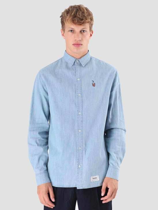 Wemoto Shake Shirt Shirt Blue 121.311-451