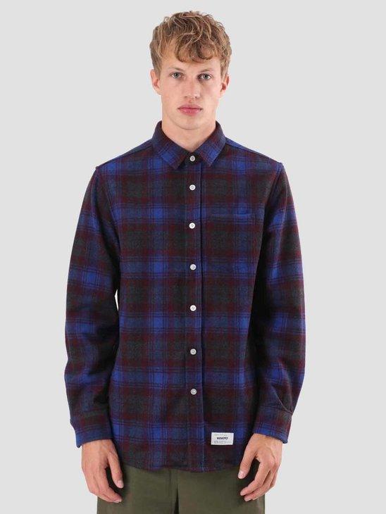 Wemoto Michael Shirt Blue 121.302-451