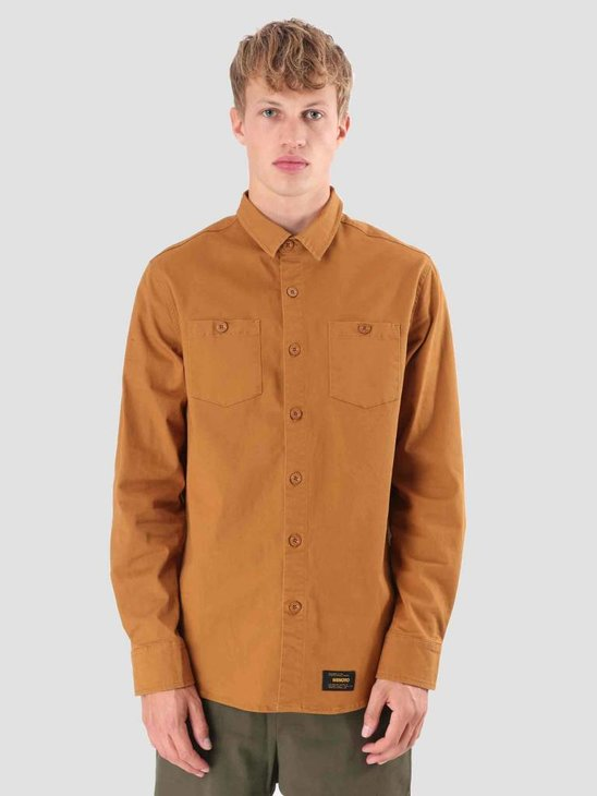 Wemoto Baker Shirt Golden Mustard 121.307-839