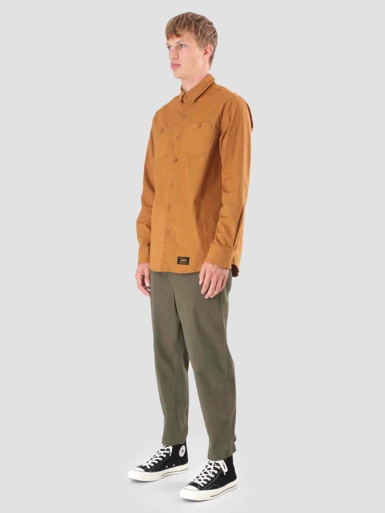 Wemoto Wemoto Baker Shirt Golden Mustard 121.307-839
