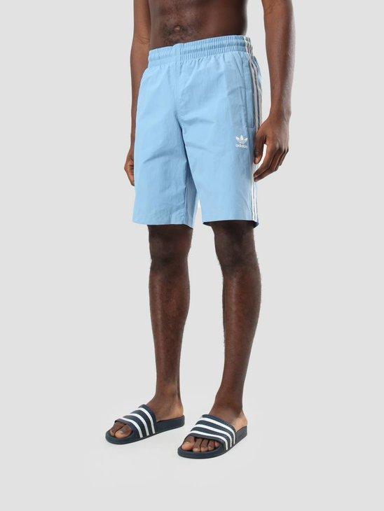 adidas 3-Stripes Swim Ash Blue Cw1306
