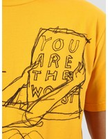 By Parra By Parra The Worst T-Shirt Stonewashed Gold 40630