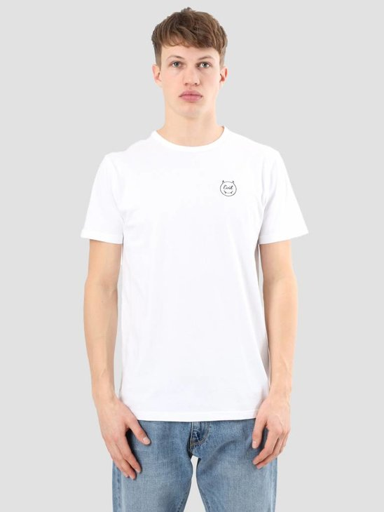 Ceizer Evil Embroidery Smiley Tee White S18-70