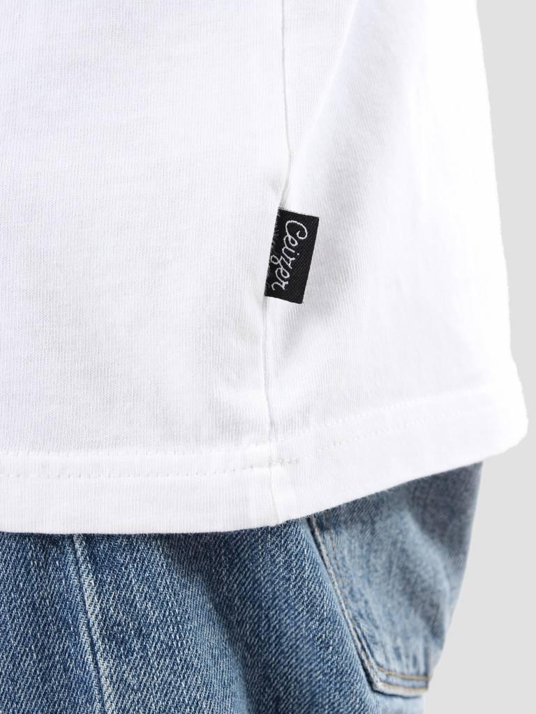 Ceizer Ceizer Evil Embroidery Smiley Tee White S18-70