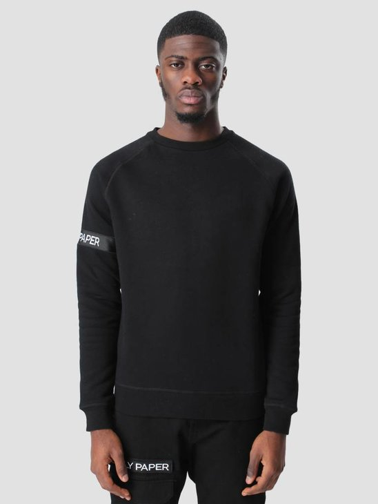Daily Paper Captain Sweater Black FW16T71