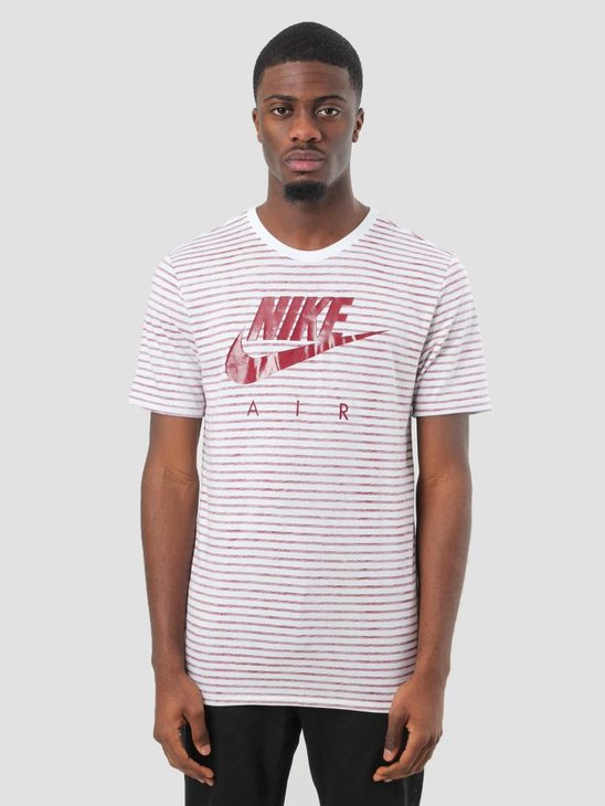 Nike NSW T-Shirt White Team Red 892213-101