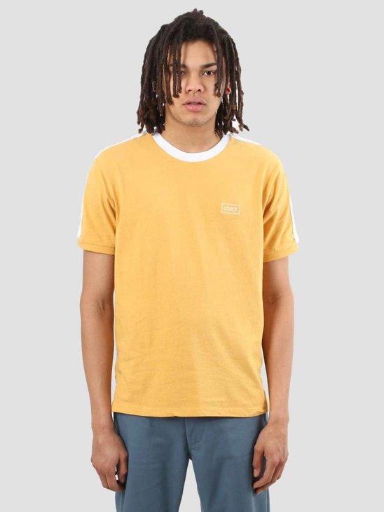 Obey Borstal Box T-Shirt Yellow 131080224