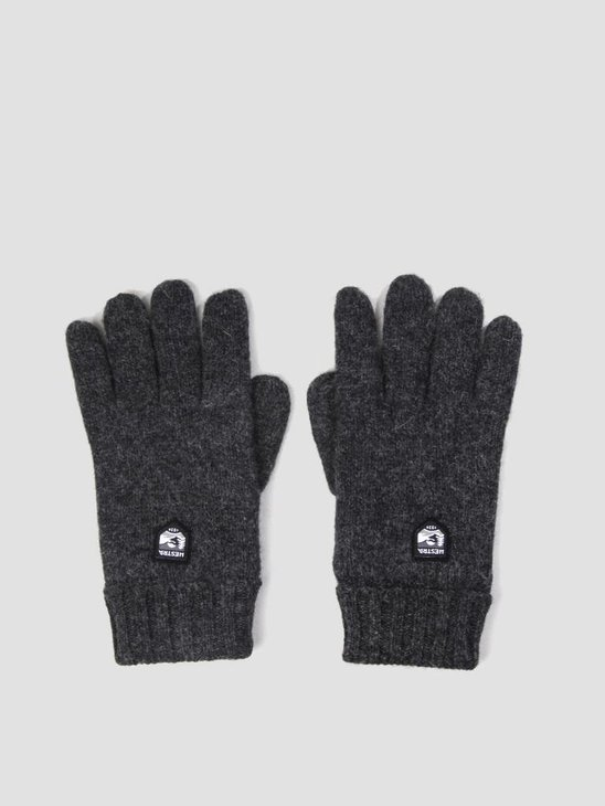 Hestra Hestra Basic Wool Glove Charcoal 63660